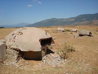 blockhaus en Albanie