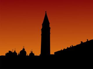 St Mark's Square Venice at sunrise