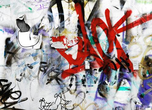 Street art background