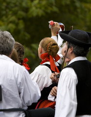 Folk dance in Hungary