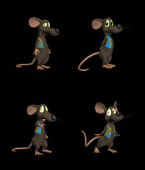 Cartoon Mouse - pack 3