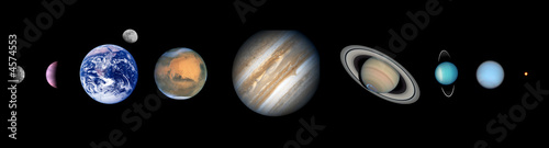 the nine planets - 892×240