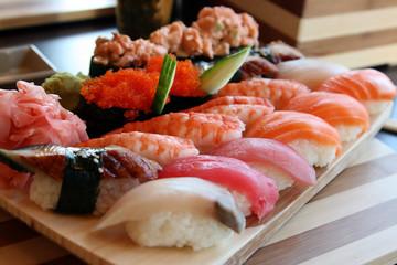 The Japanese kitchen. Sushi 3