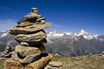 Mountains scene