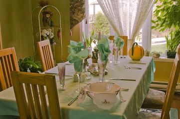 Elegant table for family