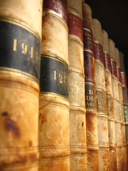 Shelf of Old Canadian Law Books