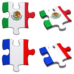 Mexico & French puzzle