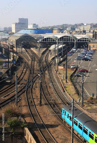 Fototapete The Main Railway