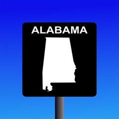 Alabama highway sign