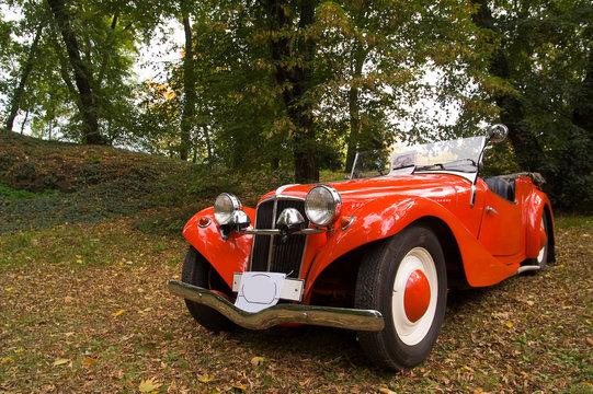 Red Aero oldtimer
