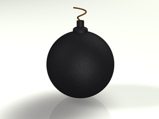 Bomb 3d concept illustration