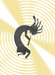 kokopelli graphic