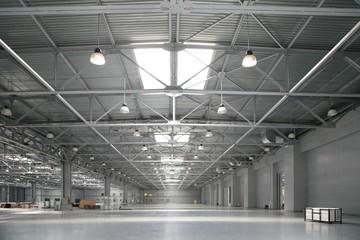 empty hangar