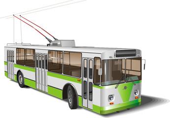 City trolleybus