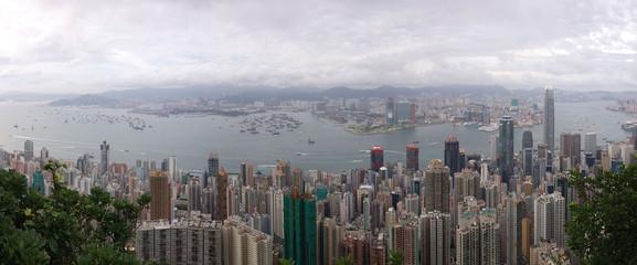 Hong Kong (Peak view)