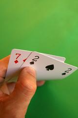 bad cards...