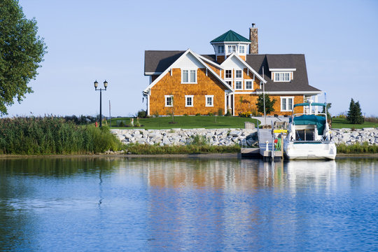 House on the harbor
