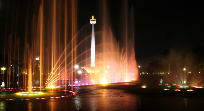Monas Dancing Fountain