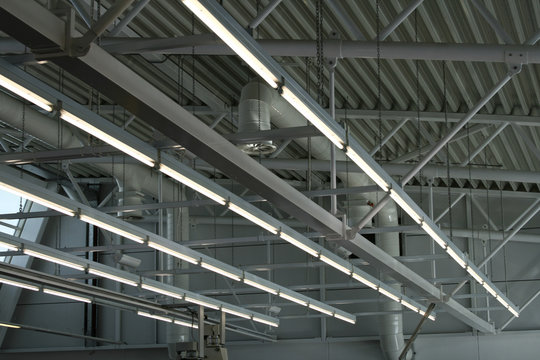 factory ceiling lights