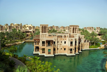 Windtowers & Tropical Waterways Of Madinat Jumeirah