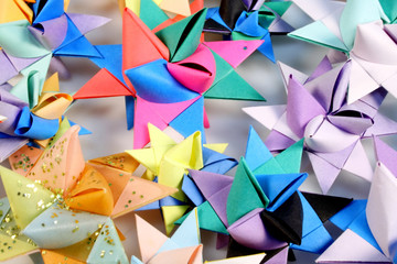 paper stars background