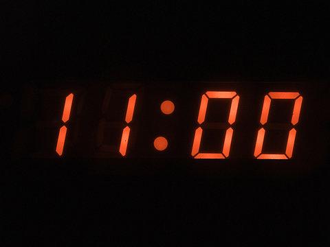 eleven o clock