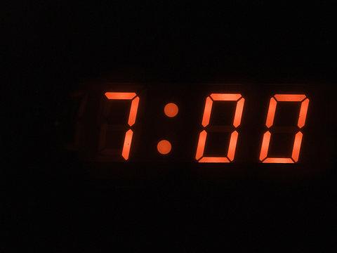 seven o clock