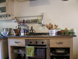 country kitchen Tuscany