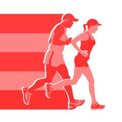 logo for jogging club