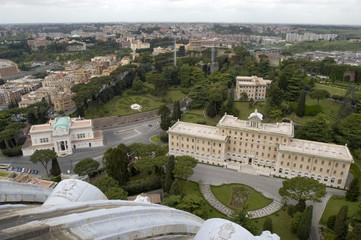 Il Vaticano dalla Cupola di San Pietro