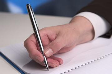 Hand writing 5