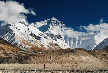 Wall Mural - Mount Everest, North face