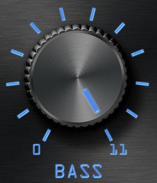 Bass level control