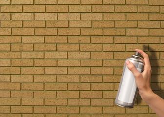 spray can bricks