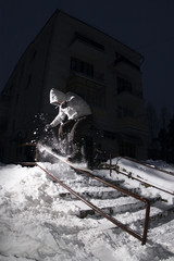 Night snowboarding 03