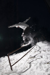 Night snowboarding 01