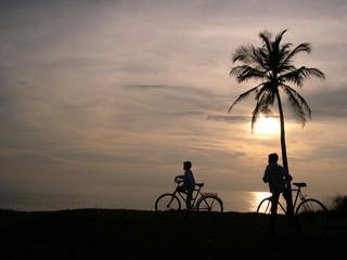 Sunset at Vizhinjam