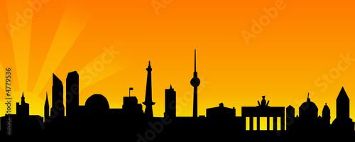 skyline berlin stockfotos und lizenzfreie bilder auf bild 4779536. Black Bedroom Furniture Sets. Home Design Ideas