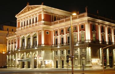 Foto auf Acrylglas Wien Musikverein in Wien - Vienna Concert Hall