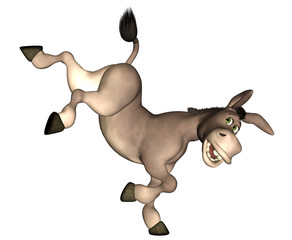Donkey Cartoon . 6