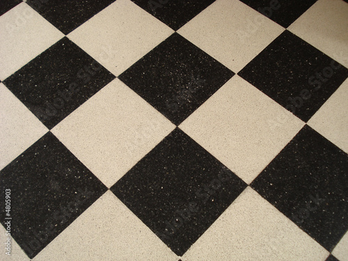 piso de ceramicos blanco y negro stock photo and royalty