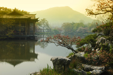 Photo sur Toile Chine West Lake, Hangzhou China