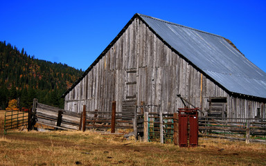 Old Idaho Barn 4