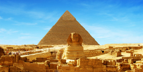 Great Sphinx of Giza - panorama