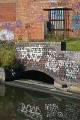 Canalside grafitti