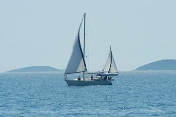 Sailing, Adriatic sea
