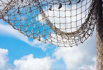 Fischernetz mit Himmel 1