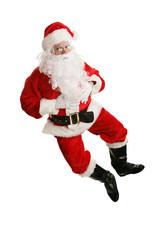 Dancing Santa Airborne