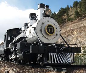 Colorado Central Railroad Engine 71