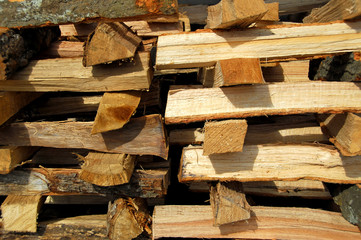 Stack of Fire Wood